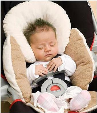 Car Seat/Stroller Body Support