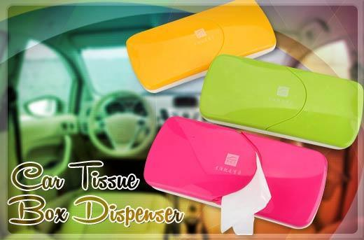 CAR TISSUE BOX Auto Accessories Car Sun Visor Tissue Box Holder Paper