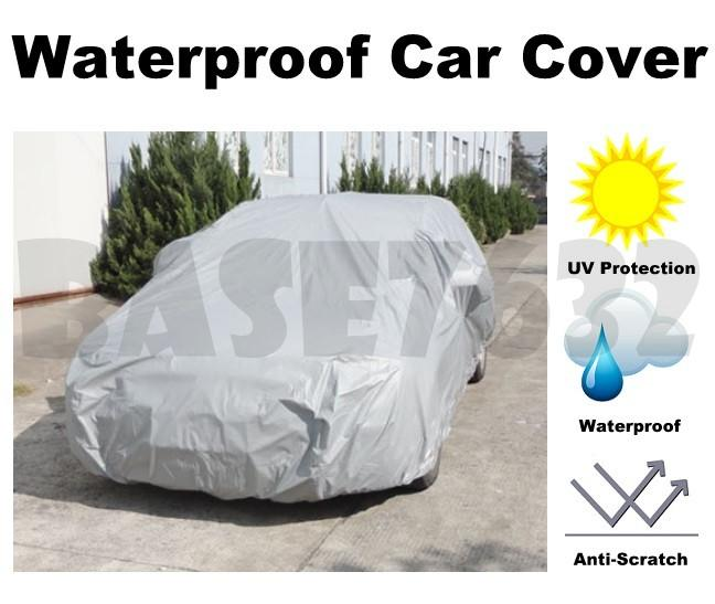 Car Waterproof Car Vehicle Cover  Heat UV Sunlight Protector