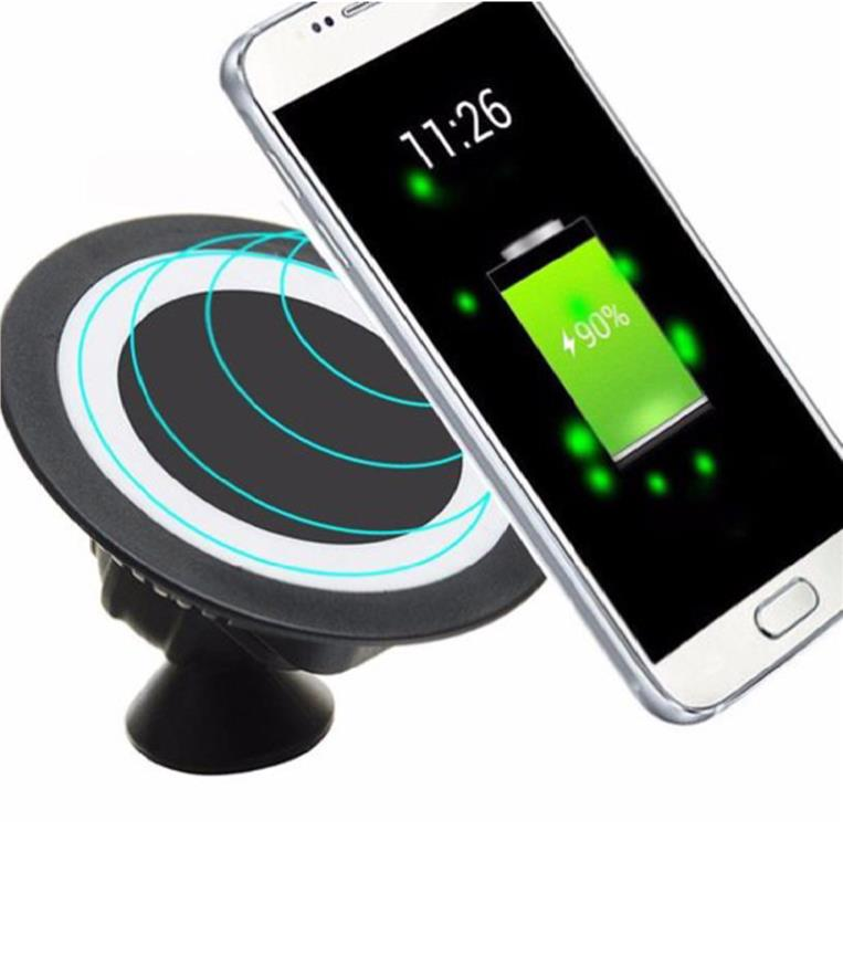 In car  Wireless Charger with lightning & micro use adapter