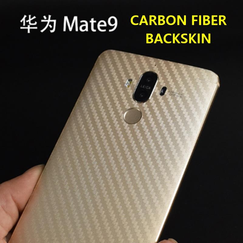 Carbon Fiber Back Skin Film Protector for Huawei Mate 9