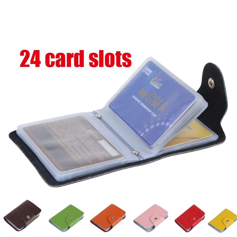 12 slot credit card wallet
