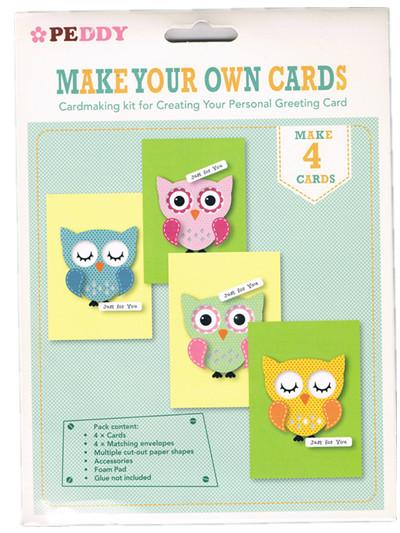 Make Your Own Cards Owls Card Making End 8 2 2016 6 15 Pm