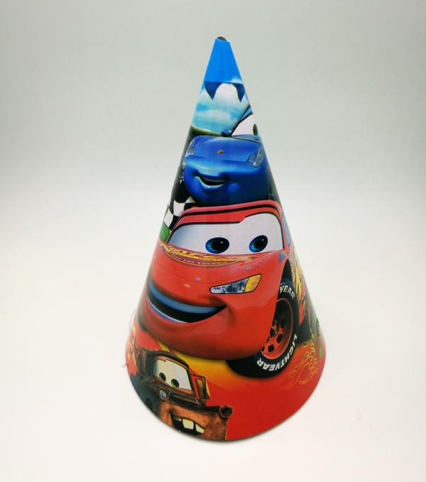 Cars Party Hat (Pack of 10)