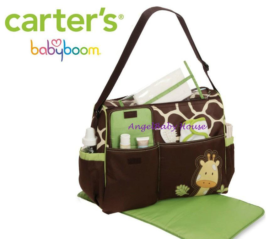 carter 39 s baby boom diaper 39 s bag mama bag giraffe end 2 12 2017 9 15 00 am myt. Black Bedroom Furniture Sets. Home Design Ideas