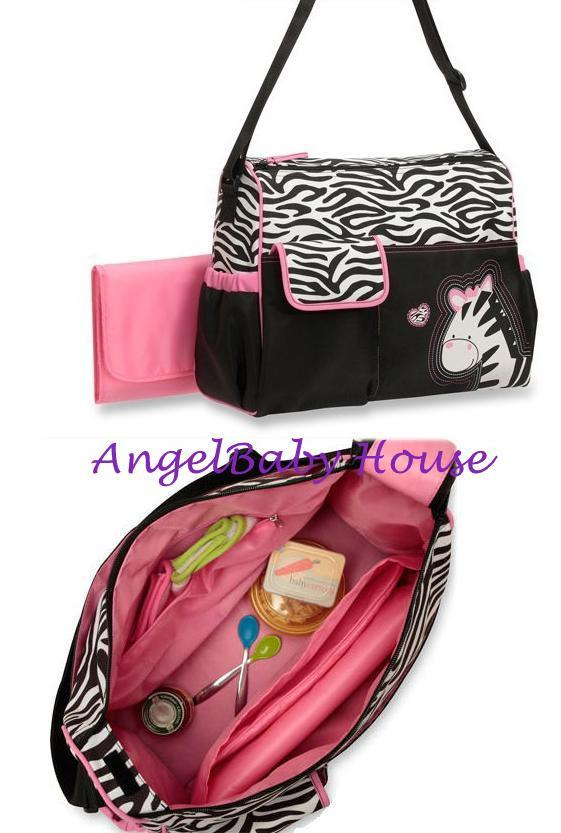 carter 39 s baby boom diaper 39 s bag mama bag zebra end 9 10 2015 9 15 00 am myt. Black Bedroom Furniture Sets. Home Design Ideas