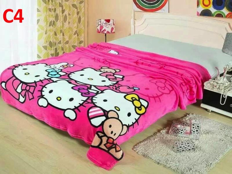 CARTOON 150CM x 200CM SINGLE SIZE BLANKET (C4)