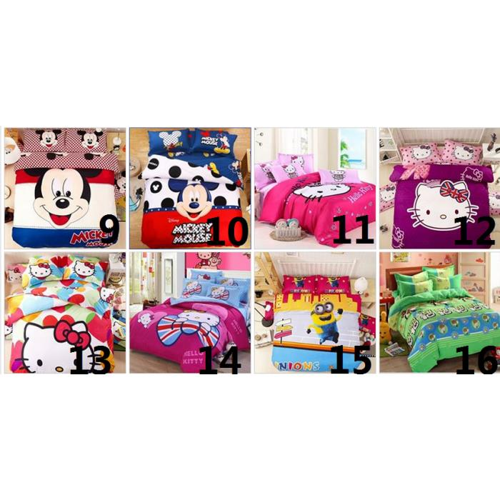 Cartoon Bed Sheet (Limited Stock)