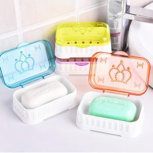 Cartoon Crown Soap Box with Cover