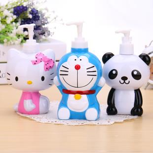 Cartoon Shower Gel Lotion Container Bathroom Hand Sanitizer Bottle