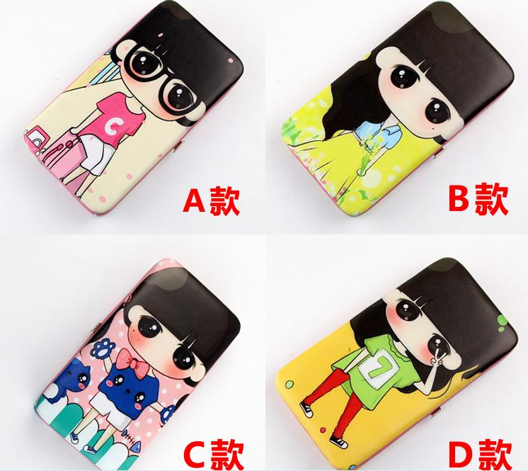 New Cartoon Women Phone Wallet Long Purse (Fit Up to 5.5 inch Phone)