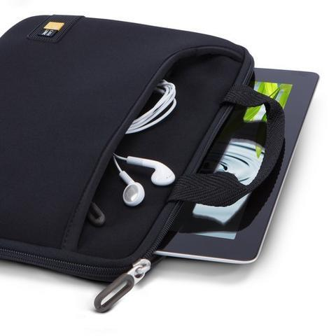 CASE LOGIC IPAD / 10' TABLET ATTACHED WITH POCKET TNEO110 - BLACK