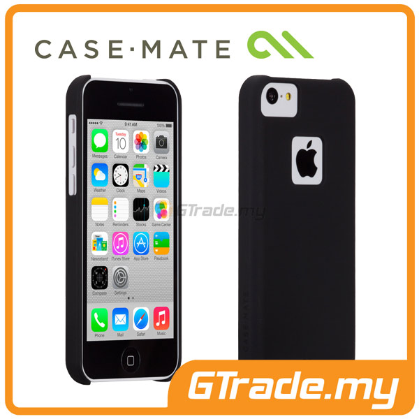 CASE-MATE Barely There Case | Apple iPhone 5C Black