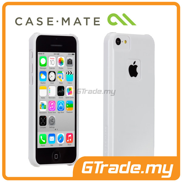 CASE-MATE Barely There Case | Apple iPhone 5C White