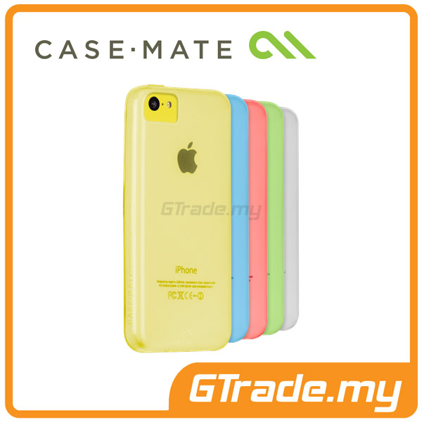 CASE-MATE Gelli Case Clear | Apple iPhone 5C