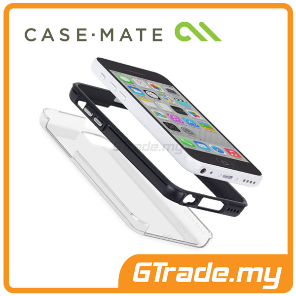 CASE-MATE Naked Tough Case | Apple iPhone 5C Clear Black
