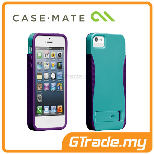 CASE-MATE Pop with Stand Case | Apple iPhone 5S 5 - Blue
