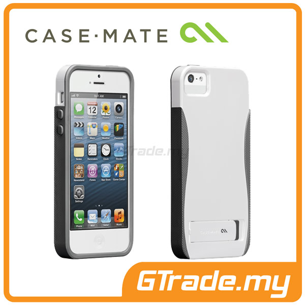 CASE-MATE Pop with Stand Case | Apple iPhone 5S 5 - White