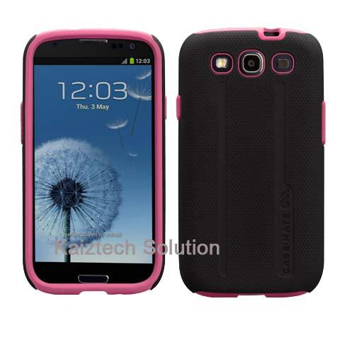 Case-Mate Samsung Galaxy S3 Tough Case - Black/Pink (Selangor, end