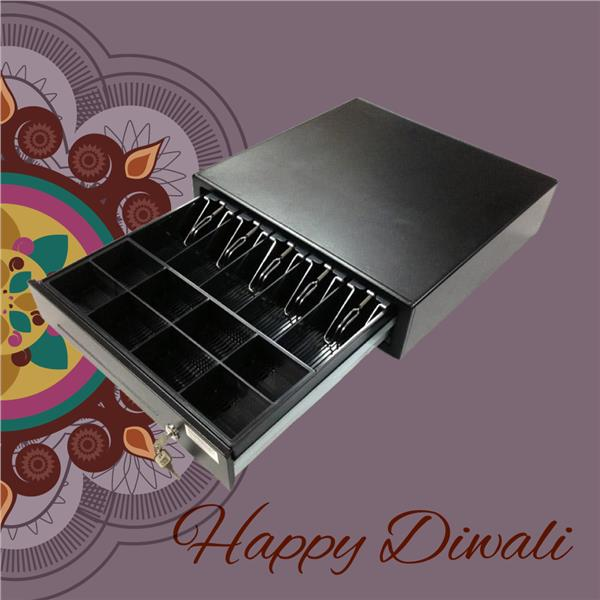 Cash Drawer with POS System on Deepavali Sale