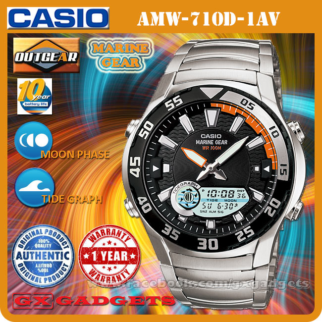 Casio marine gear wr 100m инструкция