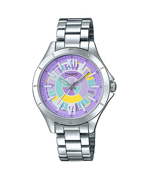 CASIO ANALOG LADIES LTP-E129D-6A