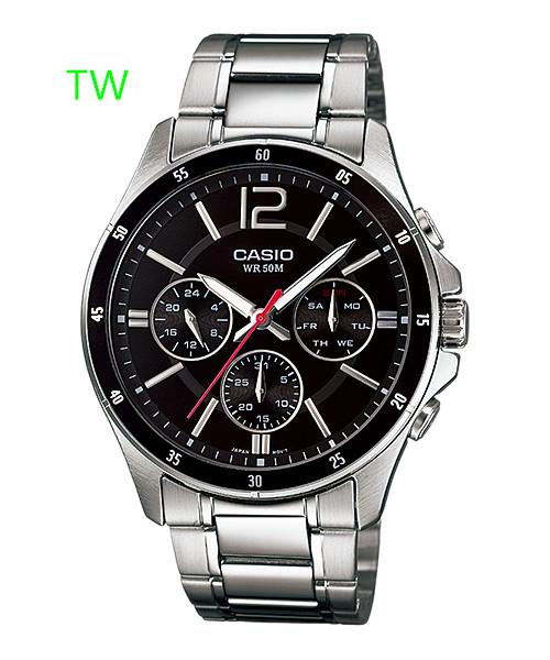 CASIO ANALOG MEN MTP-1374D-1AV ORIGINAL