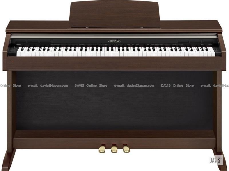 CASIO AP-220BN Brown Celviano Digital Piano Free delivery in Klang Val