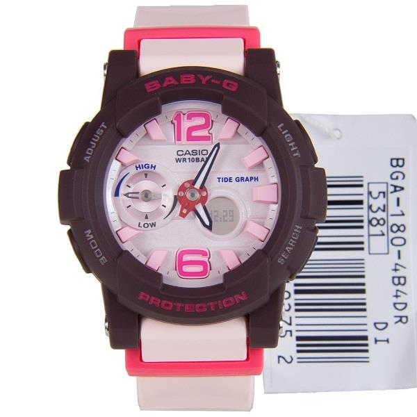 CASIO BABY-G BGA-180-4B4 BGA-180-4B4DR BGA-180 LADIES WATCH
