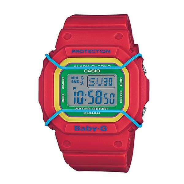 Casio Baby-G BGD-501-4B EL Afterglow Resin Band Watch With Warranty