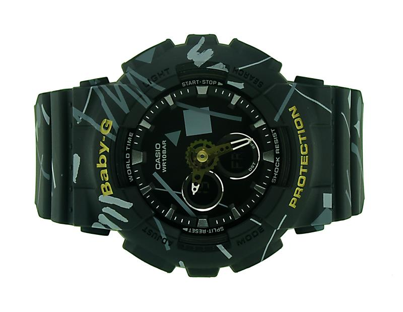 Casio BABY-G Pop Graffiti Watch BA-120SC-1ADR