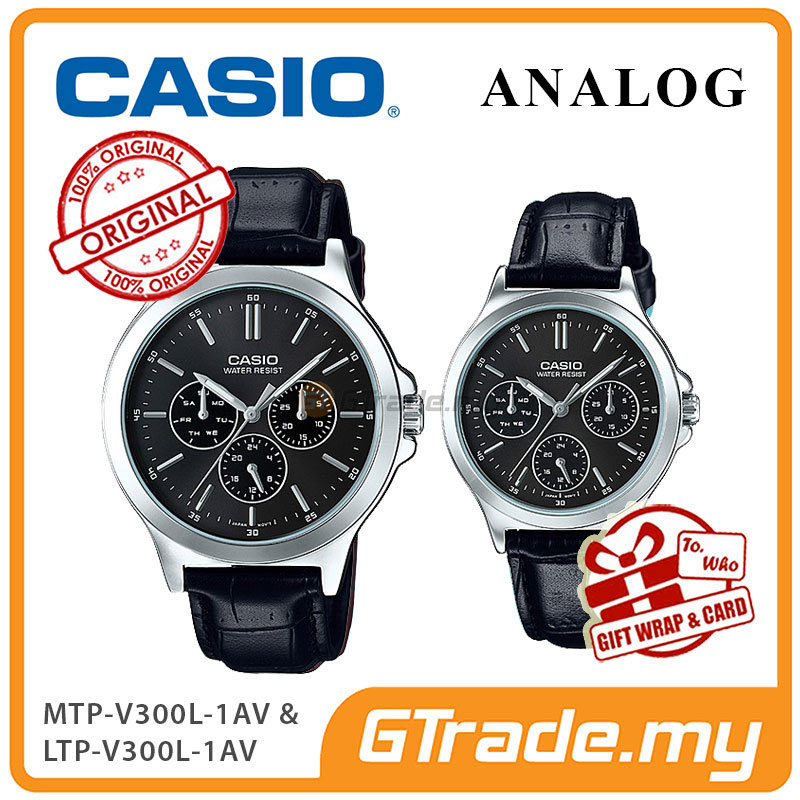 CASIO COUPLE MTP-V300L-1AV & LTP-V300L-1AV Analog Watch