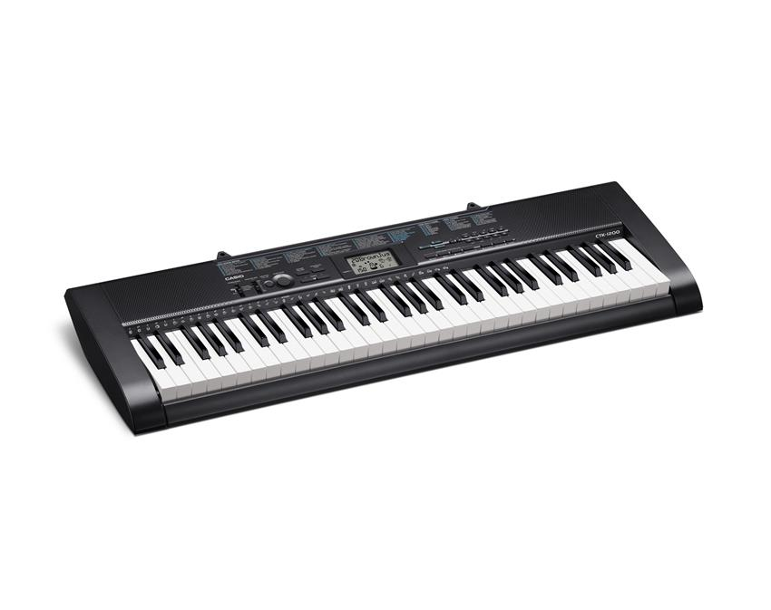 Casio CTK-1200 High Grade 61 keys standard Keyboard 100 tones, rhythms