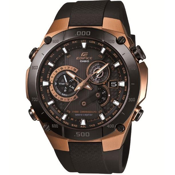 Casio Edifice 3D EQWM1100CG-1 Watch (Brand new & 100% Genuine)
