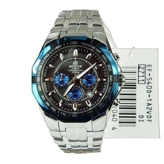 CASIO EDIFICE EF-540D-1A2 EF-540D-1A2V CHRONOGRAPH MENS WATCH