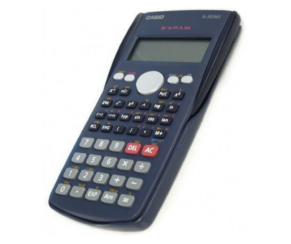 Casio Electronic Scientific Standard School Calculator FX-350MS