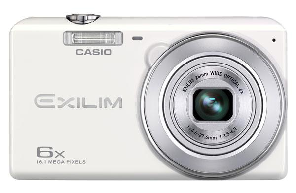 New Casio Exilim EX-ZS20 WE Digital Camera 16MP 6xOpt Zoom/HD Movie + ..