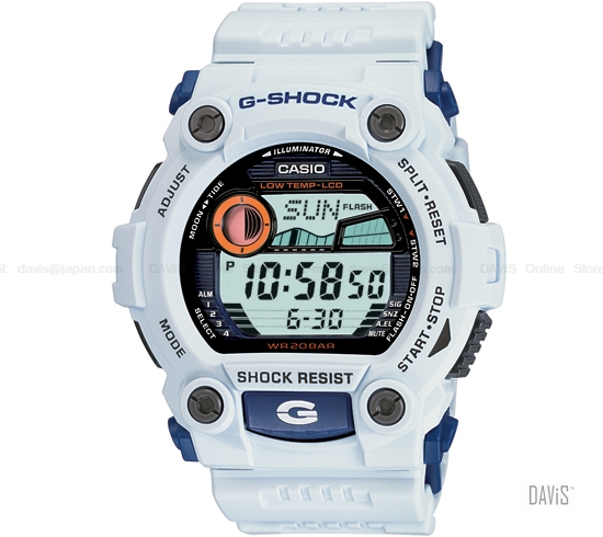 how to set my g shock
