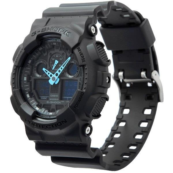 Casio G-Shock Analog-Digital GA-100C-8ADR Watch (New & 100% Genuine)