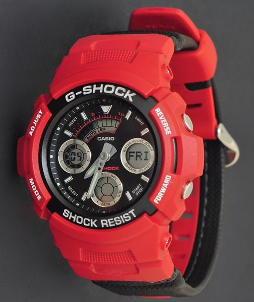CASIO G-SHOCK AW-591RL-4ADR (RED)