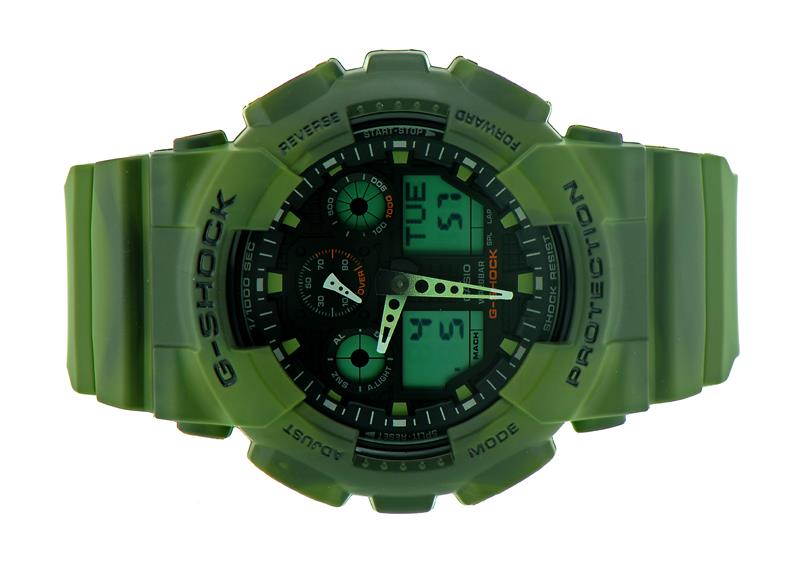 Casio G-SHOCK Camouflage Series GA-100MM-3ADR