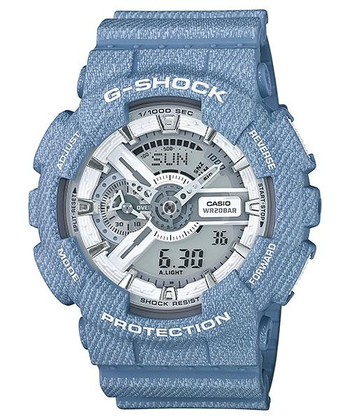 CASIO G-SHOCK DENIM SERIES GA-110DC-2A7