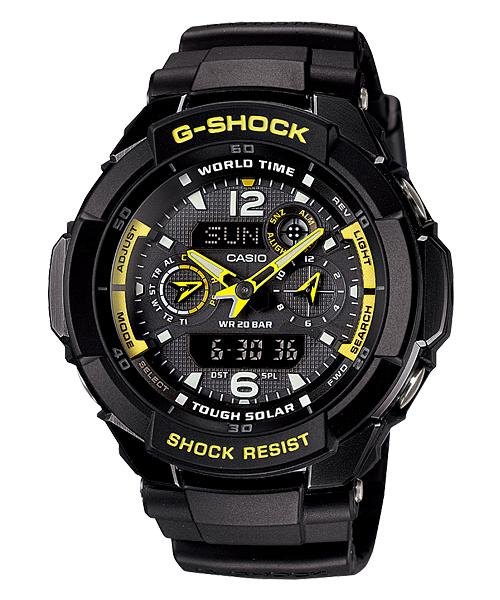 CASIO G-SHOCK G-1250B-1ADR GRAVITY DEFIER WATCH☑ORIGINAL☑