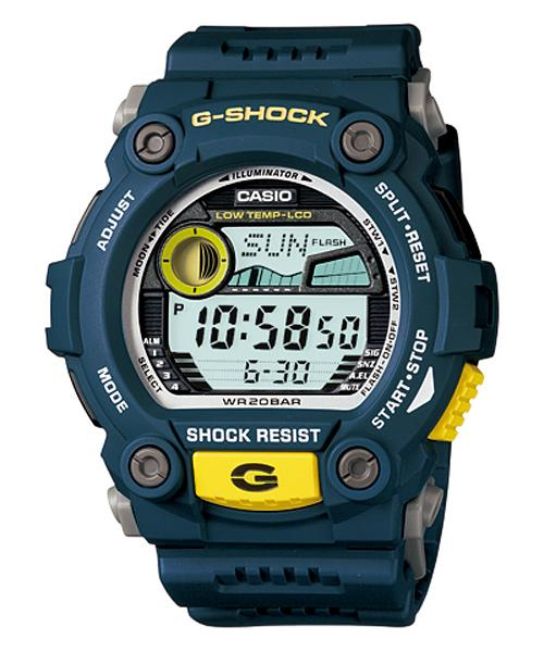 how to set the time on my g shock watch