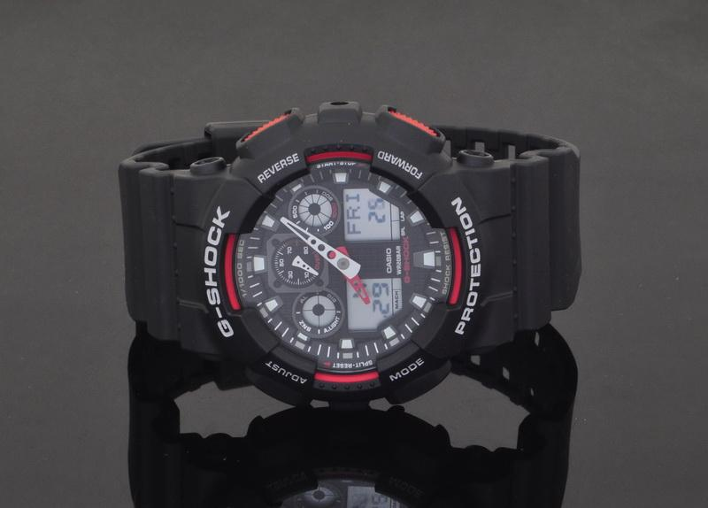 how to change time on g shock ga100