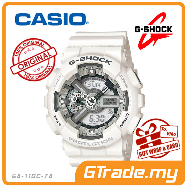 CASIO G-SHOCK GA-110C-7A Analog Digital Watch |3D Look Magnetic Resist