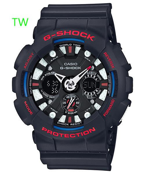 CASIO G-SHOCK GA-120TR-1A ORIGINAL WATCH