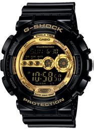 CASIO G-SHOCK GARISH BLACK COLLECTION ★ GD-100GB-1D ★ NEW
