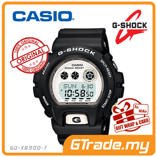 CASIO G-SHOCK GD-X6900-7 STANDARD Digital Watch | Shock Resist 10Yrs