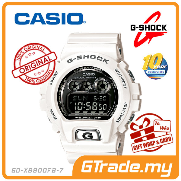 CASIO G-SHOCK GD-X6900FB-7 STANDARD Digital Watch | 10 Years Batt.